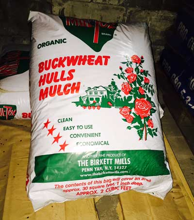 Buckwheat Hull Mulch
